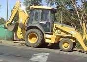 Maquina retroexcavadora jhon deere 310 aÑo 2001