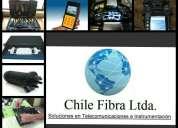 Fusion y certificacion de fibra optica