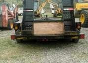 Carro transportador americano incluido con gancho militar