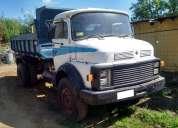 camiones mbenz 1514 4x2 año 1988 tolva de 7m3