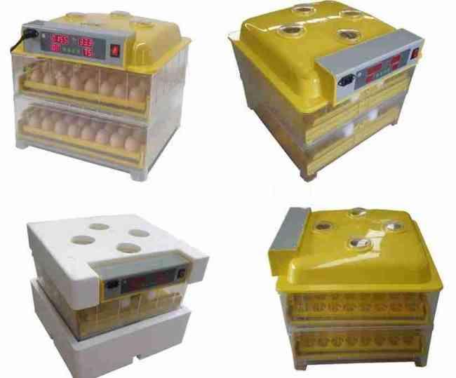 Vendo incubadoras Automáticas 112 huevos con humidificador