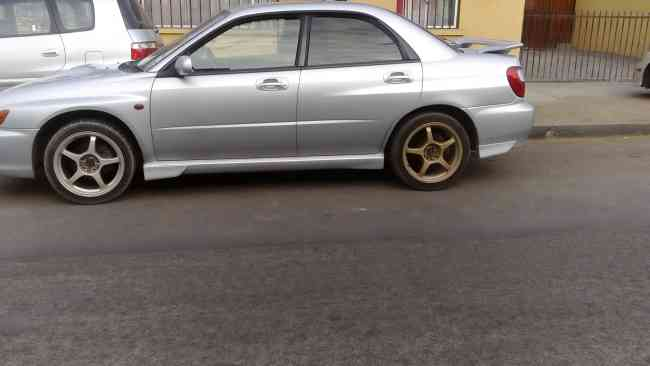 Subaru impreza wxr