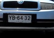Por apuro vendo mi auto año 2005 skoda favia ll,contactarse!