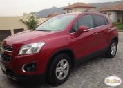 Excelente chevrolet tracker 1.8 awd lt at, 2014