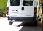 Excelente minibus peugeot boxer, año 2003, petrolero