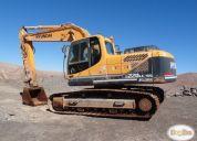 Vendo excavadora hyundai aÑo 2013,contactarse!