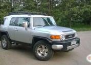 Vendo excelente  jeep toyota fj cruise año 2009
