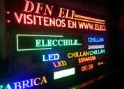 Letreros led electronicos programables