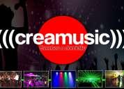 Karaoke, dj e iluminacion para eventos a domicilio -  creamusic eventos