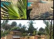 Cabañas familiares con piscina en algarrobo