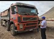 Se  ofrese camion para mobimiento de tierra y venta de materiales