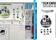 Empavonado con diseños para oficinas, casas, cocinas, loggias