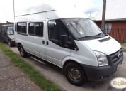 Vendo excelente mini bus ford transit 2012