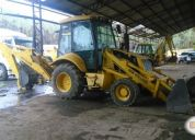 Excelente retroexcavadora new holland aÑo 2002