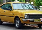 Excelente toyota corolla compro 77, 78 coupe o station