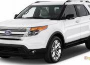 Arriendo excelente ford explorer full automatica