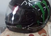 Excelente casco monster