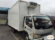 Excelente camión jac urban hfc 1061, año 2013
