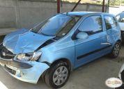 Hyundai getz fl gl 1,4 2010 hatchback chocado