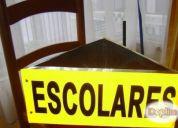 Excelente letrero escolar