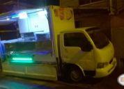 Camioneta adapada para ventacomida rapida