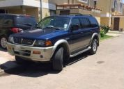 Vendo jeep mitsubishi montero sport all star año 99,contactarse!