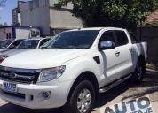 Excelente ford ranger 3.2 xlt diesel año 2015, inmaculada