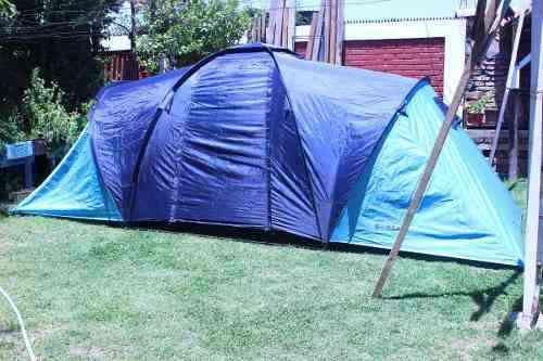 Carpa Para 6 Personas; 2 Dormitorios