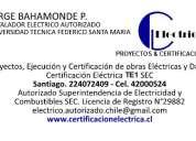 Te1. empalmes electricos. instalador autorizado sec. te1 eventos masivos. mantenimiento. 42000524