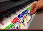 Stickers y etiquetas adhesivas troqueladas en vinilo pvc