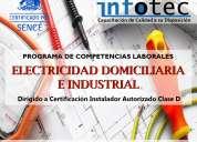 curso electricidad domiciliaria e industrial