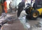 Retiro escombros en todo stgo 227098271 demoliciones con martillo
