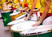 Mulatas, batucada, show brasilero 100% profesional