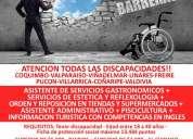 CapacitaciÓn para personas con discapacidad