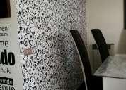 Maestro papel mural y terminaciones