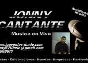 Jonny cantante eventos especiales
