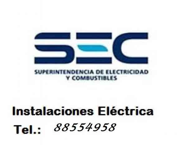 Electricidad a domicilio, tecnico sec, 88554958