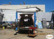 taller mecanico equipado