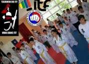 Clases de taekwondo itf san bernardo rm. club hwa rang itf