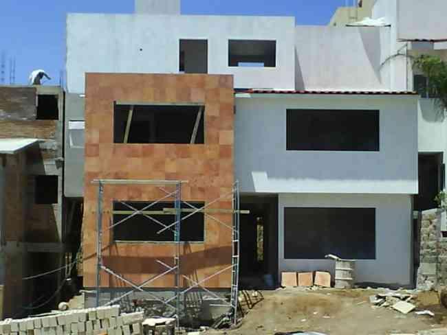 construccion de casas solidas y livianas.-