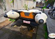 Excelente zodiac zebec con motor suzuki 15 hp. en santiago.
