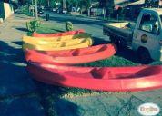 Excelente kayak doble con garantía. en santiago.