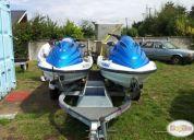 Vendo carro doble de moto de agua galvanizado