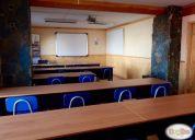 Salas de capacitación para 30 personas