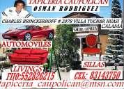 Tapicerias en calama , vehiculos y hogar