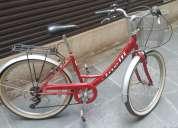 Bicicleta aro 26 más accesorios