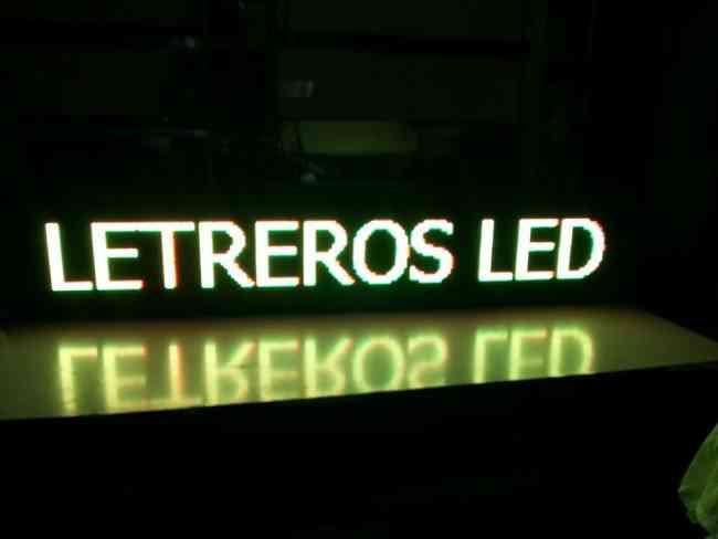 letreros led programables para publicidad