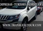 Transporte ejecutivo, aeropuerto y turismo