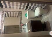 Departamento de verano 3 dormitorio y 2 baños.amoblado
