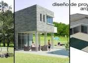 Servicios de arquitectura, v región y r.m
